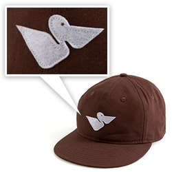 Nice Pelican on this Mollusk Surf Shop Hat