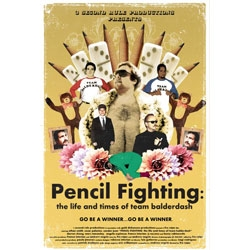 Pencil Fighting: the story of Team Balderdash. Really sweet short film about Pencil Fighting!