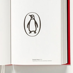 "A book showcasing Pentagram's often-iconic identity work.  Also ""printed on French-folded bible paper, bound in a red, cloth-covered softback cover and includes five ribbons for bookmarking""."