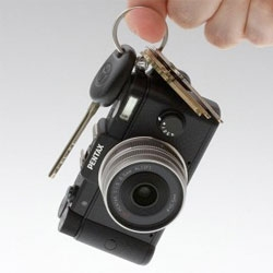 New Pentax Q. World's smallest and lightest interchangeable lens digital camera.