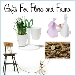 Gift Guide: Flora & Fauna ~ its all nature inspired/related and slightly random ~ but fun gift ideas none the less!