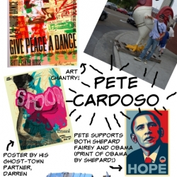 pete cardoso makes posters which is why we wanted to talk to him