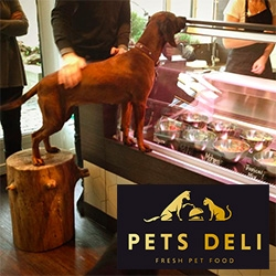 Pets Deli in Roseneck, Germany is a beautiful gourmet deli for your dogs and cats!