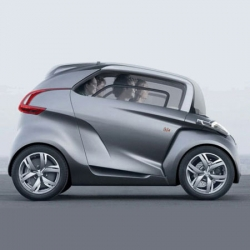 """Its mother is a scooter. Its father is a car."" - The Peugeot BB1 Concept car, unveiled at the 63rd Frankfurt Motor Show recently."