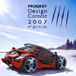 The top ten winning entries for the Peugeot Concours Design Contest.
