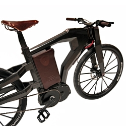 'BT-01' bicycle by PG-Bikes & UBC ...'the lightest, most powerful, fastest and most technological 2 wheels driven E-Bike worldwide.'-