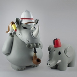 Frank Kozik William, Henry and Reginald by Arts Unknown - limited to 350 pieces.