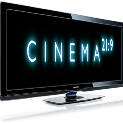 Forget 16:9! No more home cinema! Now you can have cinema at home from Phillips. I want one!