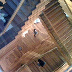 a sneak -Iphone- preview from the just opened  TBWA Amsterdam HQ. designed by creative agency ...,staat & snapshot by Esther.