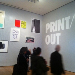 A Printeresting review of MoMA's new tour-de-force and hotly-debated Printmaking exhibition, Print/Out. Let's talk about the future of print!