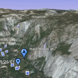 Google Earth for iPhone. Is there any need for further description?