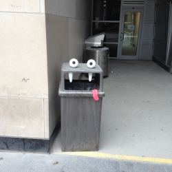 Funny and clever street art from Toronto animator Aiden Glynn