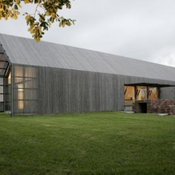 The gorgeous Barn House by Buro2 architects. I also really like the Flash navigation by Wallpaper*