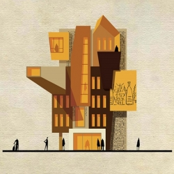 """""""ARCHIST is a playful interpretation of the expressive language and aesthetic of some of the most popular artists. I enjoyed creating 27 """"paintingsprojects"""" which represented 27 different artists."""" - Federico Babina"""
