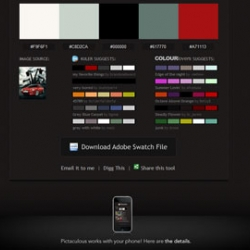 Pictaculous - Ever wondered what color to use with an image? Upload an image - get a color palette!