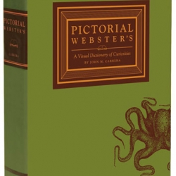 Pictorial Webster's: A Visual Dictionary of Curiosities compiles 1,500 engravings that originally graced the pages of Webster's dictionaries in the 19th century.