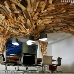 Paul Coudamy is an architect that works and lives in Paris. His work is a mash up of brilliance and inventiveness that creates a unbelievable end product such as the office called the Bears Cave.