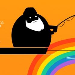 Good Things Should Never End - Poke London's effort for the Orange Shop  via Spoonbuzz.com