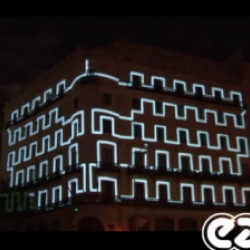 Awesome 3D Video Projection Onto Monumental Architecture by Easyweb.
