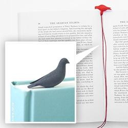 Studio Macura's Pero 3D printed pigeon bookmarks!