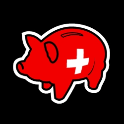 Swiss Piggy Bank Tshirt