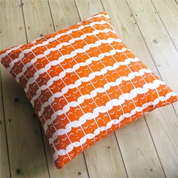 Ben Javen's Face It Cushion ~ lovely print!