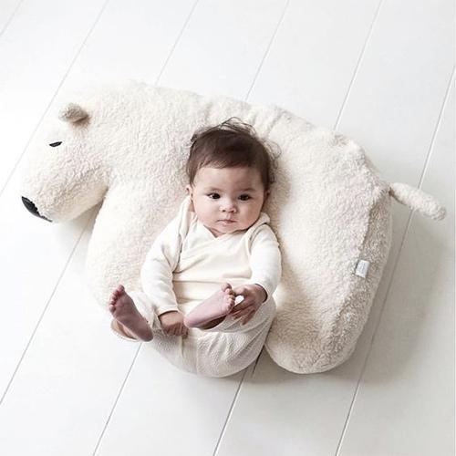 Nanami Polar Bear Baby Pillow!