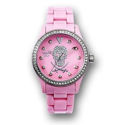 This pink crystal pirate watch is or only the most hardcore of buccaneers.