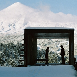 A simple but extraordinary observation deck in Villarica, south of Chile. By Rodrigo Sheward
