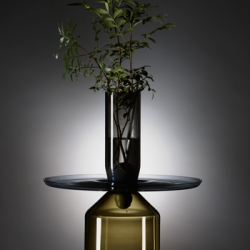 PISTIL vase by Francis Chabloz / Labelobjet, part of the Transformers collection, inspired by the industry and the world of machine tools.