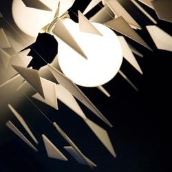 Cracklight hanging lamp from Pitaya Design.