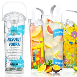 Absolut explores the Art of Sharing with these new limited edition artists pitchers!