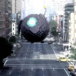 "Amazing execution & post-production for the last clip of Patrick Jean ""Pixels""."