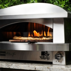 The Artisan Fire Pizza Oven for the outdoor gourmet by Kalamazoo Outdoor Gourmet.