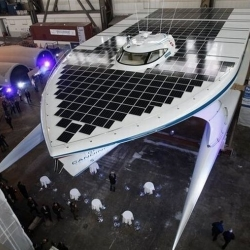 World's largest solar-powered boat unveiled in Germany