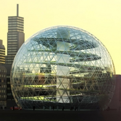 The Plantagon, the geodesic dome farm, could be the way we produce food in the future.