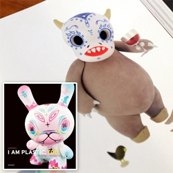 I Am Plastic Too ~ by Kidrobot's Paul Budnitz ~ amazing coffee table book that is like the yearbook of amazing designer toys! So many NOTCOT friends and favorites featured ~ take a peek inside...