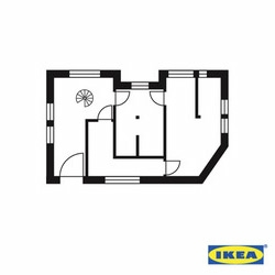 Jung von Matt mixes Architecture and Typography for IKEA.