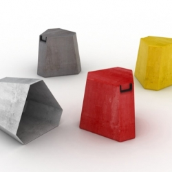 Plinto, a new stool designed by Luca Nichetto for Skitsch will be presented in occasion of 2010 Milan Design Week.