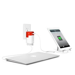 PlugBug from Twelve South combines your chargers to charge multiple devices with just one charger.