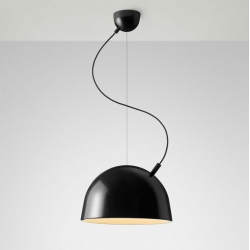 "The Plugged pendant lamp plays with the elements most lighting armatures try to hide. It emphasizes how the lamp is ""brought to life"" thereby giving it character and difference. By Swedish Broberg & Ridderstråle for Muuto."
