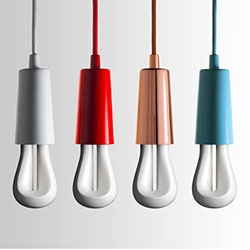 The Plumen 002 is their newest design and is a 7W bulb that is created from one bent tube. It generates a similar amount of light as a conventional 30W bulb.