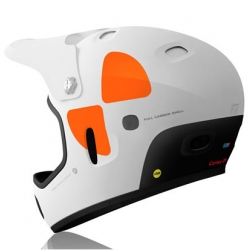 The POC Cortex DH Helmet is equipped with the patented MIPS system to reduce the rotational forces on the brain in the case of an oblique impact.
