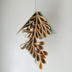 An artist who can turn books into jewelry, lamps, mobiles, shelves & even birdhouses: gorgeous work of Lisa Occhipinti.