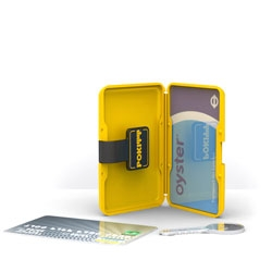 The Pokitt wallet is designed to carry and protect all your bulky Credit Cards, Smart Cards & Transport Cards. The RFID friendly design means you don't have to take your oyster card out to tap in.