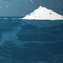 Oliver Winward's illustration created for an article on the impact of global warming on polar bears.