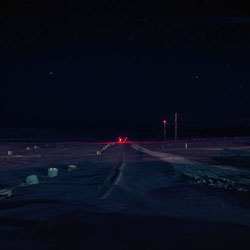 Polar Night in the high arctic, a stunning photo project by Montreal based photographer Thomas Kneubühler.