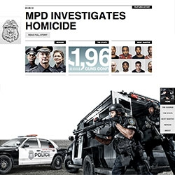 Hard to believe its real - the website of the Milwaukee Police Department, as created by Cramer-Krasselt, is so beautifully designed, at first i almost thought it was for a video game...