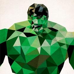 Polygon Heroes by James Reid.