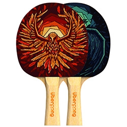 Recent collaboration with Uberpong, designer & illustrator Mike Serafin's limited edition Thunderbirds ping-pong paddle illustration is up on their newly launched website.